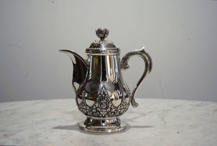 銀器-歐洲小銀壺