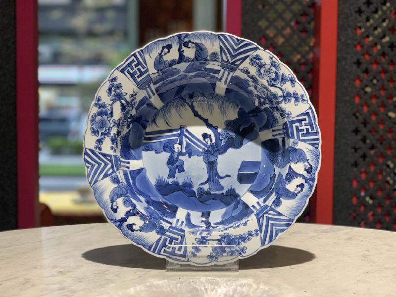 瓷器-青花帽碗