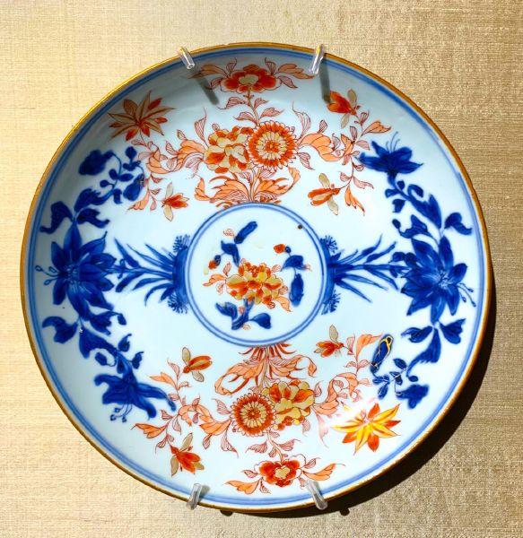 瓷器-伊萬里風格瓷盤