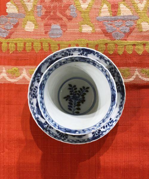 瓷器-青花杯盤組