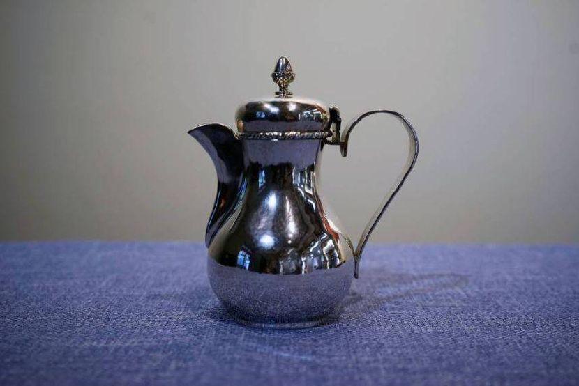 銀器-義大利小銀壺