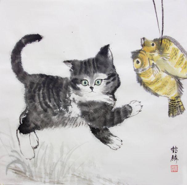 嚴鶴麟-曬魚乾