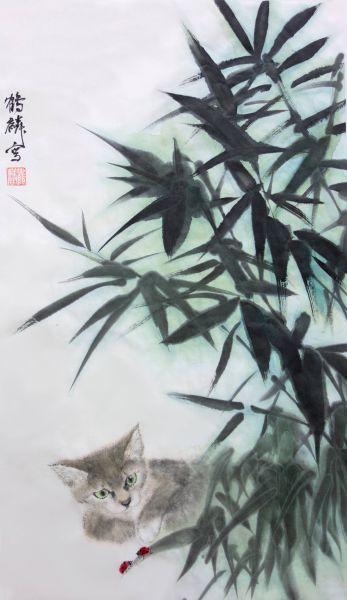 嚴鶴麟-貓與甲蟲