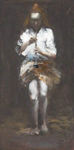 岑龍-吹笛的女孩|The Piping Girl