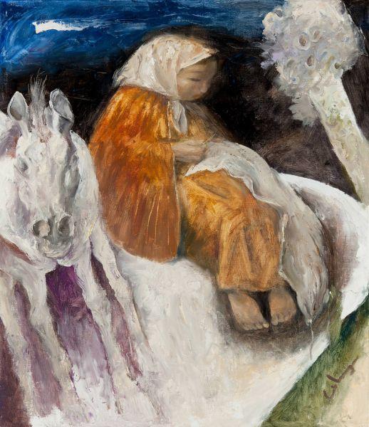 岑龍-縫斗篷|Cloak Sewing