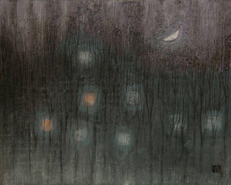 林靖子-冬月夜|Moon Night in the Winter