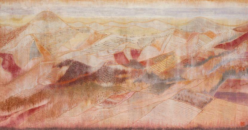 林靖子-夕山 Mountain at Dusk