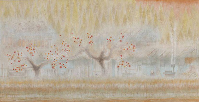 林靖子-五右衛門風呂與柿子樹|Goemon Bath and thePersimmon Tree
