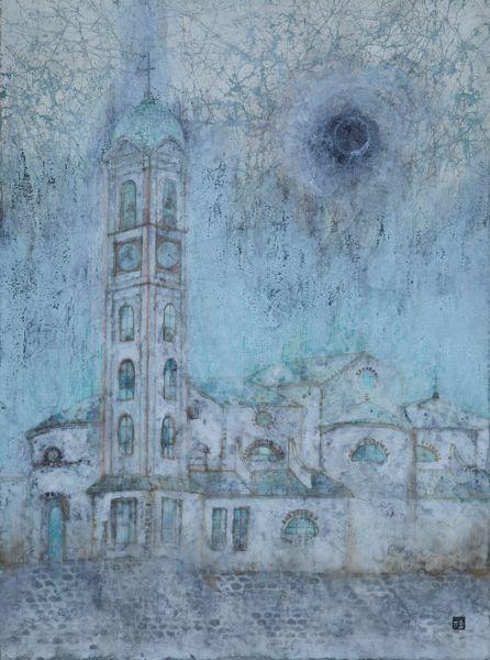 林靖子-月與教會|Luna e chiesa