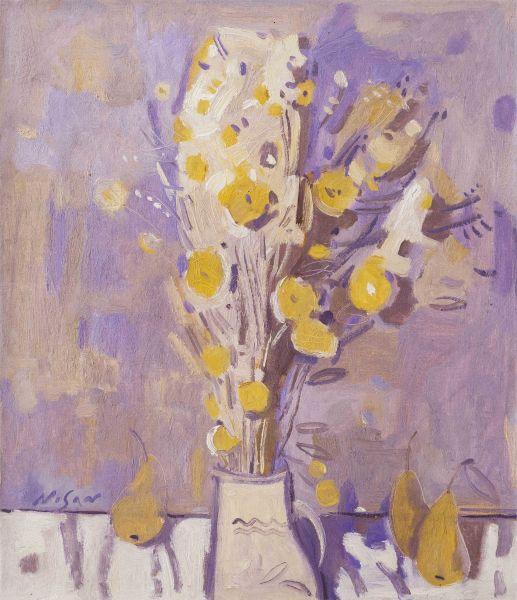 弗拉基米爾.諾山-黃花|Yellow Flowers