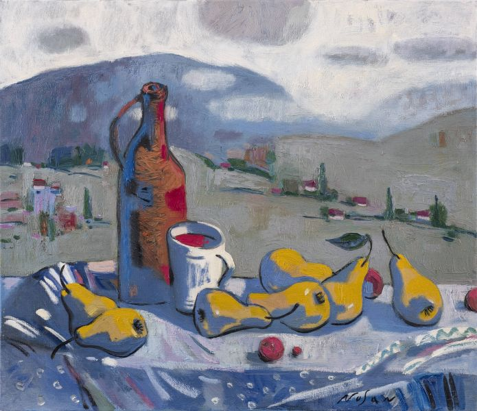 弗拉基米爾.諾山-酒和梨子|Wine and Pears