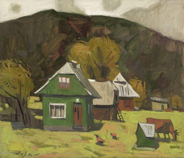 弗拉基米爾.諾山-綠色小屋|Green House