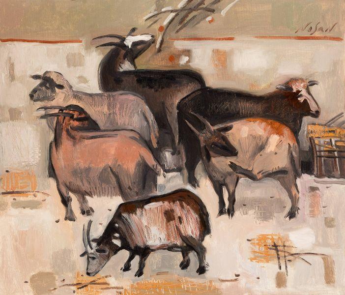 弗拉基米爾.諾山-羊群|Sheep's Flock
