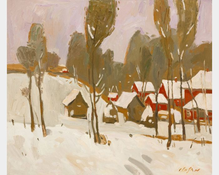 弗拉基米爾.諾山-初雪|First Snow