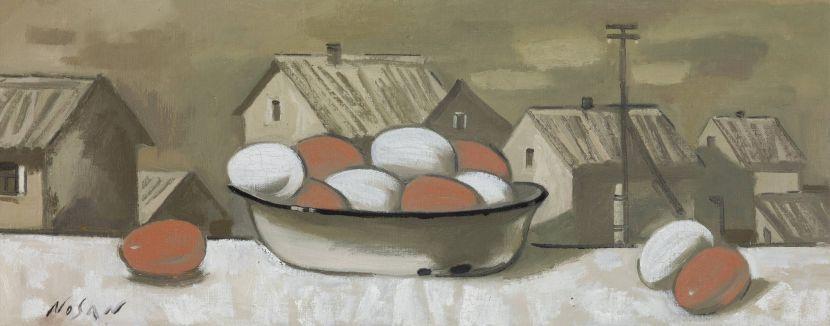 弗拉基米爾.諾山-窗台的雞蛋|Eggs on the Windowsill