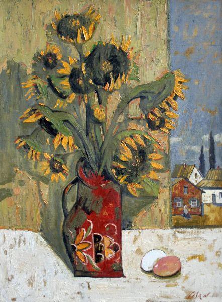 弗拉基米爾.諾山-向日葵-II|Sunflowers-II