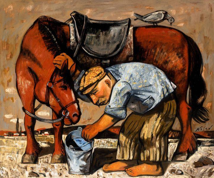 弗拉基米爾.諾山-沐馬|Washing the Horse