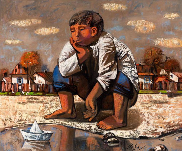 弗拉基米爾.諾山-童年・雨後|Childhood・After the Rain