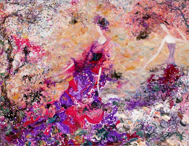 羅曼.諾金-盛開的櫻桃樹|Cherry Blossom