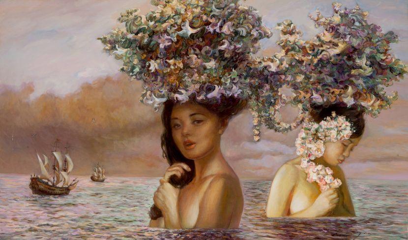 "羅曼.諾金-歌唱的姐妹島嶼<殖民地夢想系列>|Islands of Singing Sisters""Colonial Dream""series"
