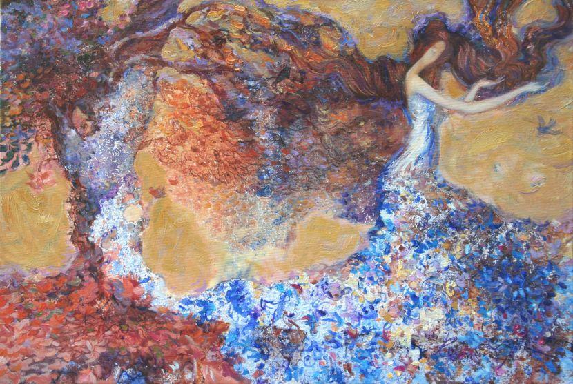 羅曼.諾金-織秋女神 The Knitting of Autumn