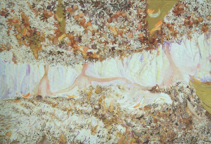 羅曼.諾金-秋季.跳舞的作物|Autumn.Dance of theCrop