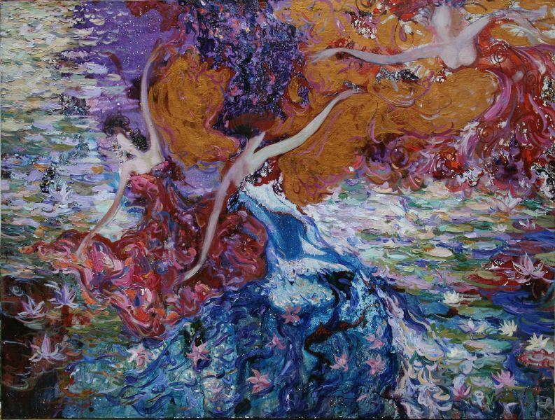 羅曼.諾金-水上舞蹈-II|Dancing on the Water-II