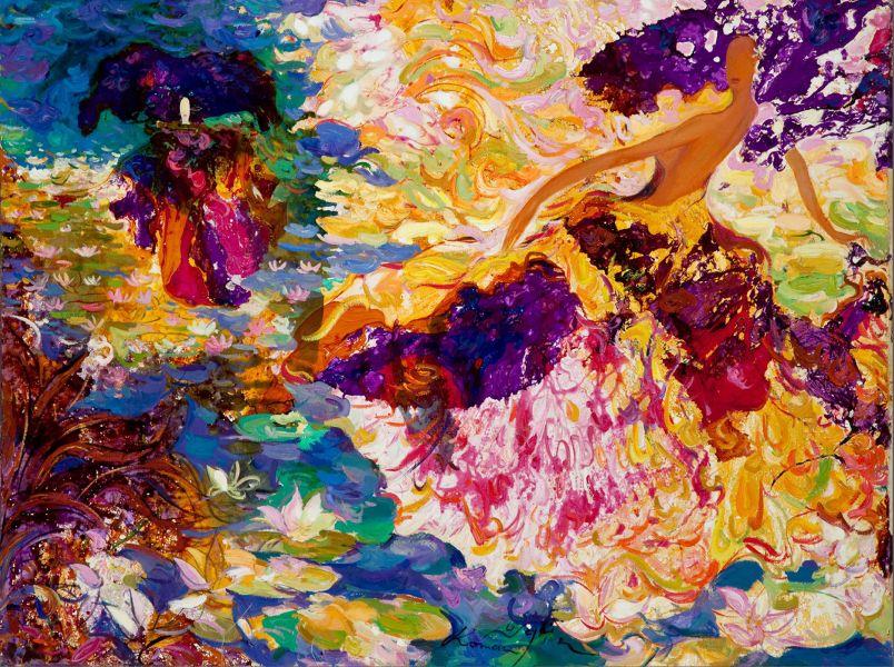 羅曼.諾金-水上舞蹈 – I|Dancing on the Water – I