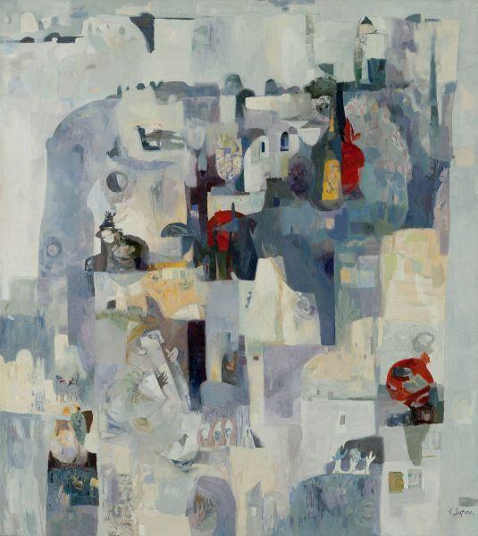 薩芬娜.克謝妮亞-構圖-VI|Composition-VI