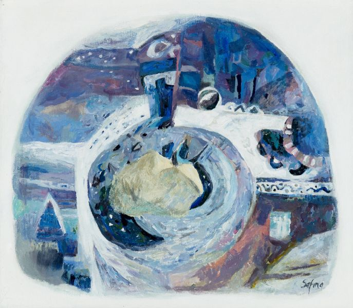 薩芬娜.克謝妮亞-一首關於月亮牛的詩-II|Poem about Lunar Bull-II