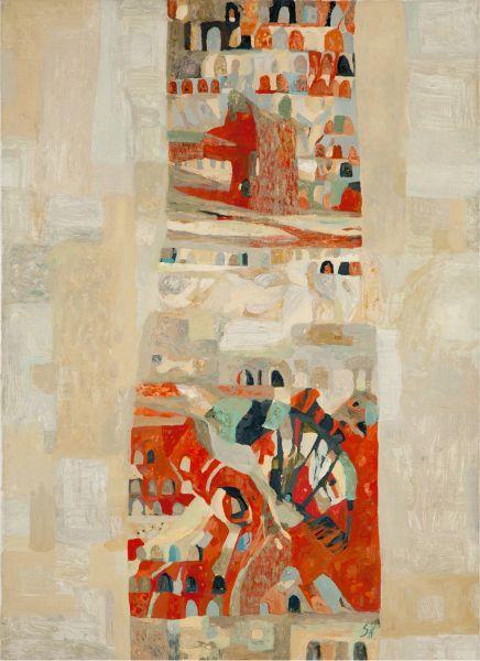 薩芬娜.克謝妮亞-構圖-II|Composition-II