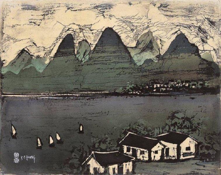 黃歌川-江山多嬌美
