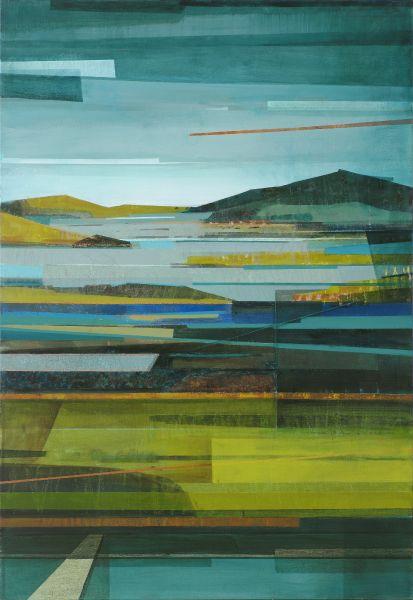 林熺俊-山丘、水色、時間、移動1