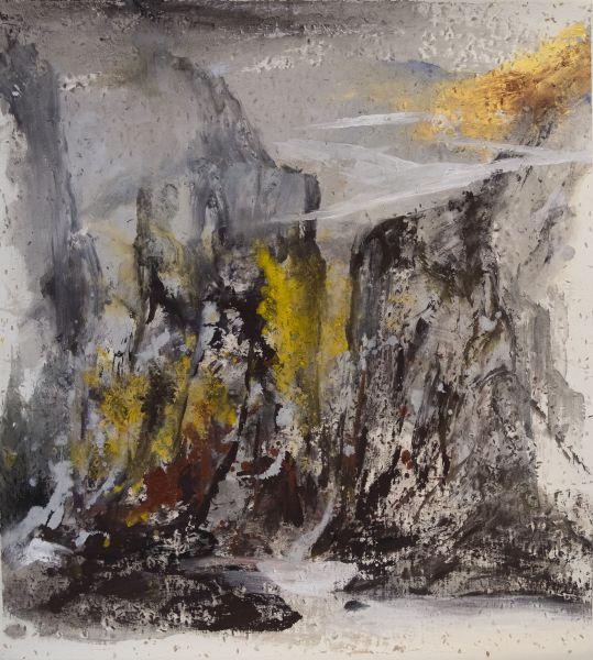塵三-赤壁巖流 Cliff and Waterfall