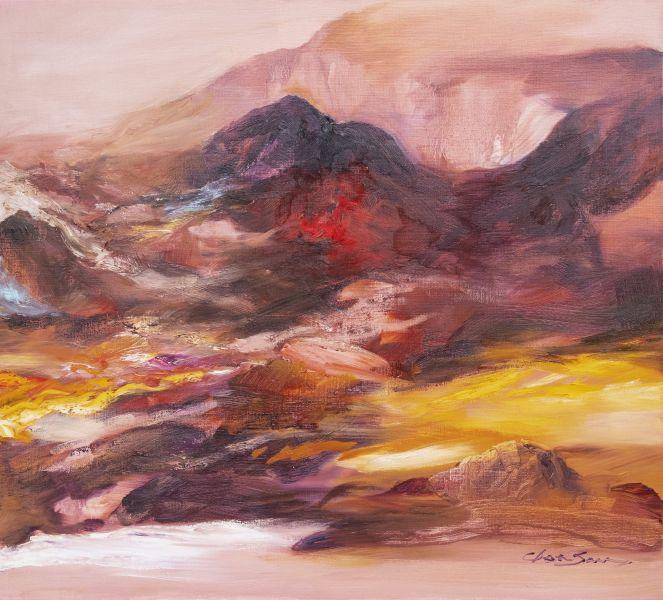 塵三-紫炎山鑾 Flaming Mountain