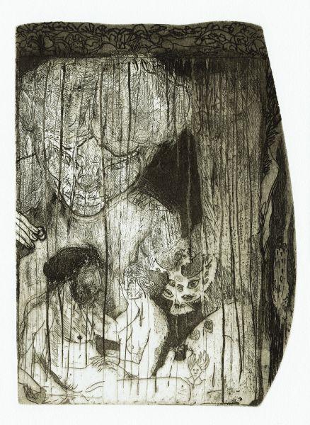 Carlos Franco-los amores de Dido y Eneas (Dido and Aeneas in the cave)