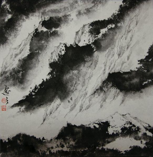 姚逸之-石門雲霞 Rosy Clouds