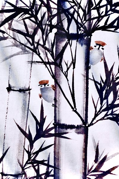張忠弘-竹間鳥語