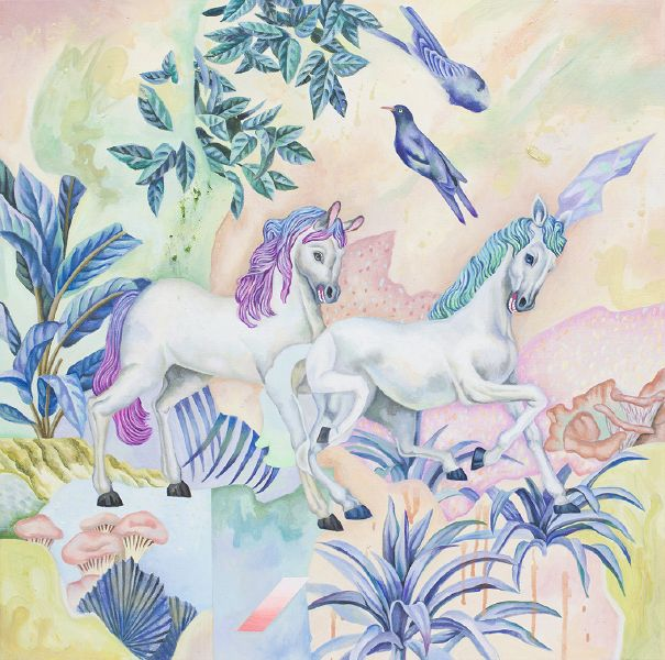 歐靜雲-彩色的花 Flowers with Colors