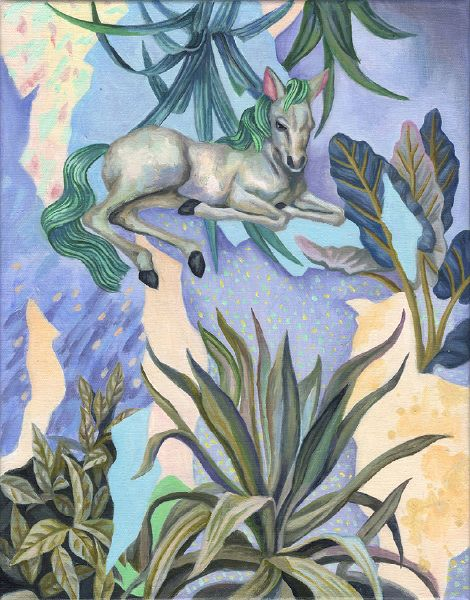 歐靜雲-綠色尾巴 Green Tail