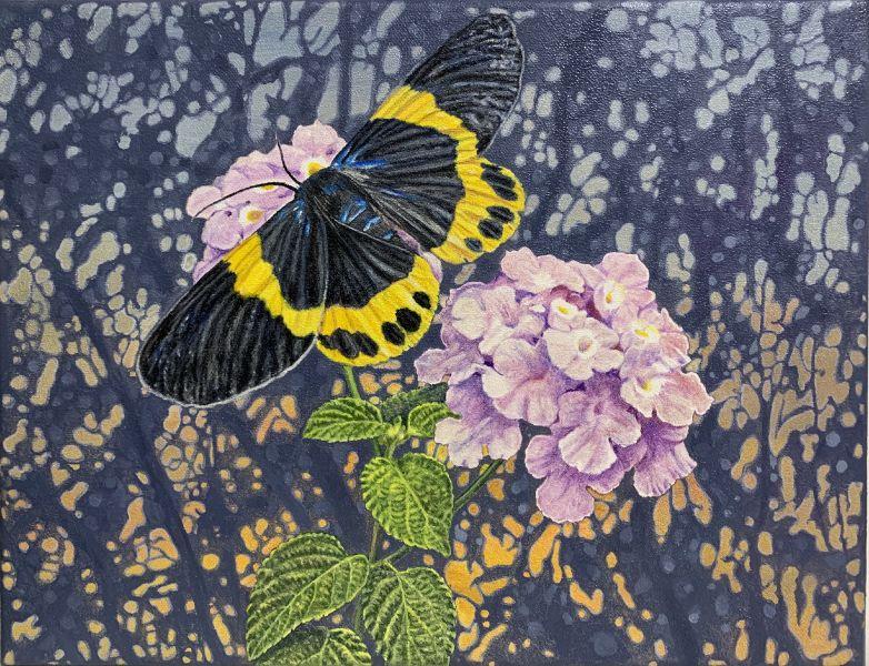 周錫安-花蝶戀 Butterfly & Flowers