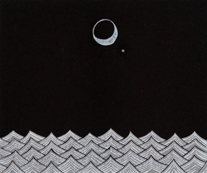 趙思涵-海上的金星合月 Moon and Venus