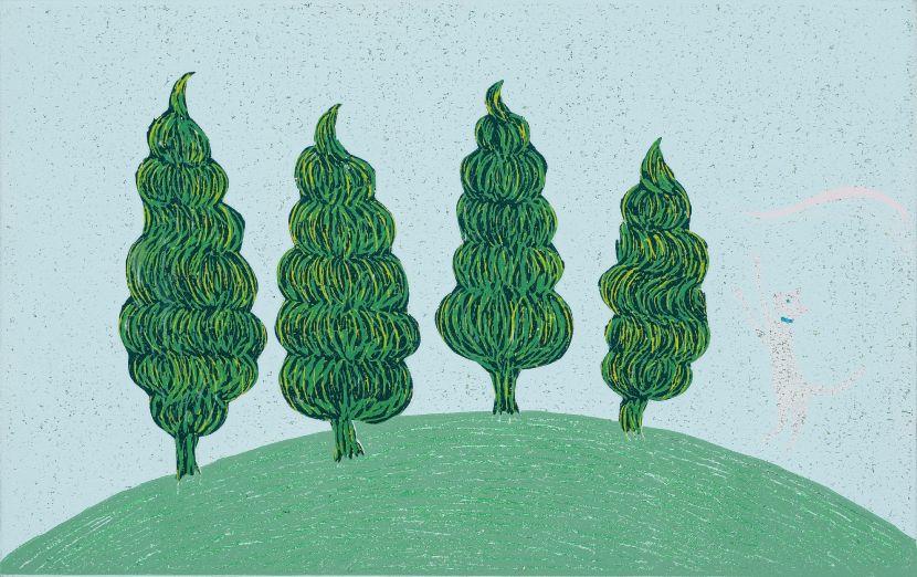 趙思涵-四樹一貓 Four Trees and a Cat