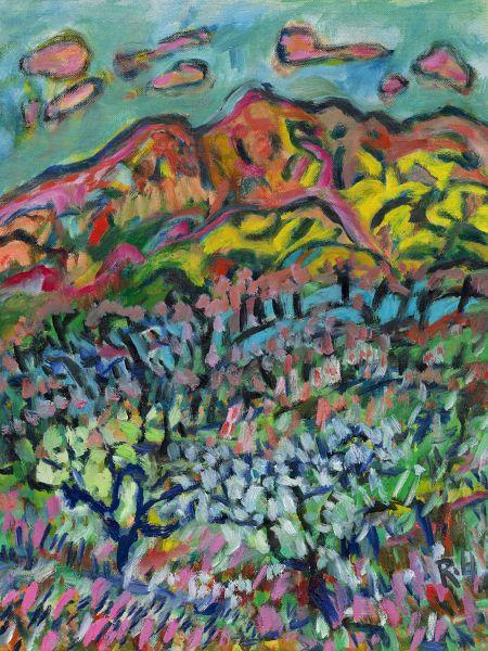 黃騰輝-玉山上的櫻花