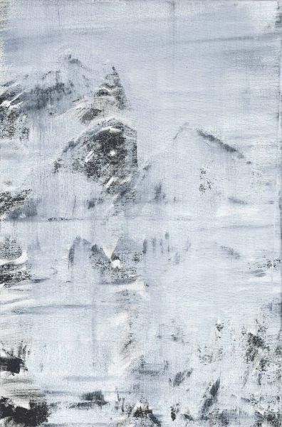黃騰輝-雪山圖