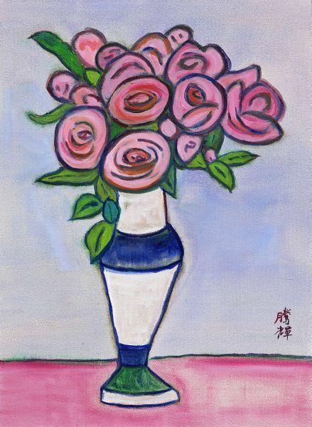 黃騰輝-情人節的玫瑰之一