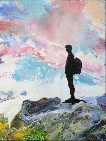 陳國祥-霧海上的旅者 the wanderer above the mists