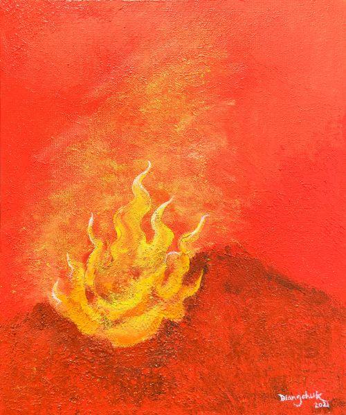 王楚丹-自然元素-火  Natural Elements -Fire