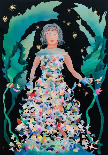 呂紹瑜 LUPA-花神  THE GODDESS OF FLOWERS