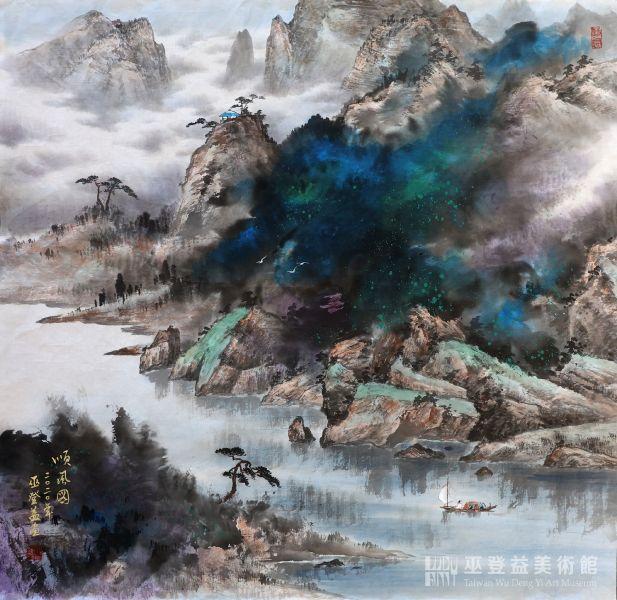 巫登益-春潤晴嵐